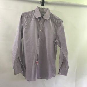 CHRLES TYRWHITT🍾Classic None iron slim fit shirt